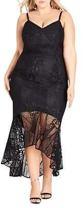 City Chic Plus Chaquita Mermaid Dress