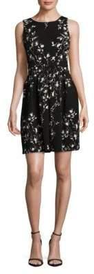 Taylor Printed Knee-Length Dress