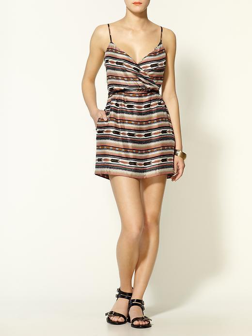 Dolce Vita Marion Silk Print Mini Dress