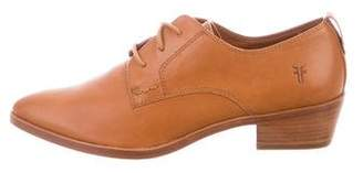 Frye Leather Whiskey Oxfords w/ Tags