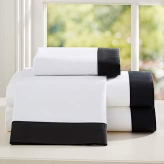 Pottery Barn Teen Suite Organic Sheet Set, Queen, Black