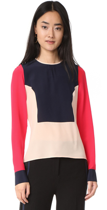 Paul Smith Multicolor Blouse $395 thestylecure.com