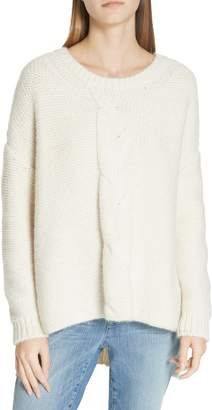 Eileen Fisher Ballet Neck Boxy Sweater