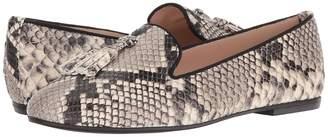 Matteo Massimo Snake Tassel Slip-On Women's Slip-on Dress Shoes