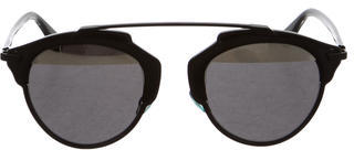 Christian Dior So Real Split Sunglasses $445 thestylecure.com