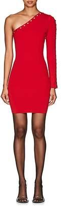 Alexander Wang Women's Snap-Detail One-Sleeve Minidress