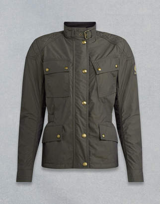 Belstaff Phillis Motorcycle Jacket Brown