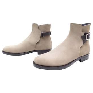 Christian Dior Velvet boots