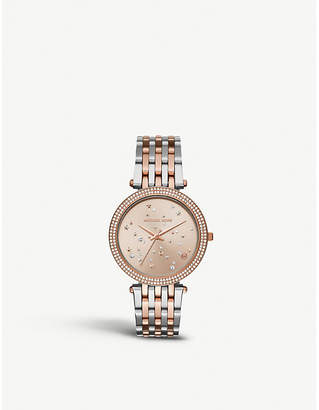 Michael Kors MK3726 Darci rose gold-toned stainless steel watch