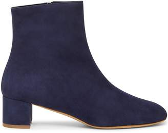 Mansur Gavriel Shearling 40mm Ankle Boot - Blu