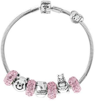 Disney Winnie the Pooh Crystal Made Up Charm Bracelet