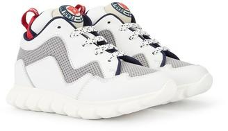 Fendi high top sneakers