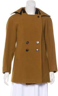 Dries Van Noten Wool Double-Breasted Jacket