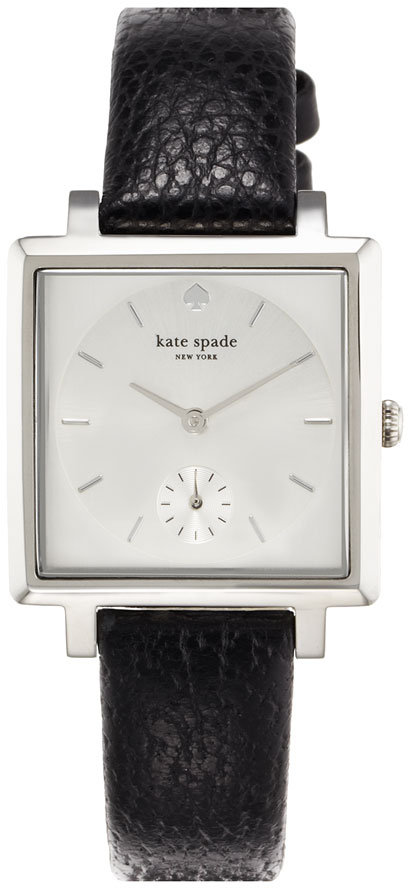 Kate Spade Square Leather Strap Watch