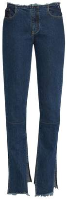 Marques Almeida Marques'almeida Slim-Fit Split Hem Jeans