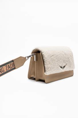 Zadig & Voltaire Lolita Shearling Bag