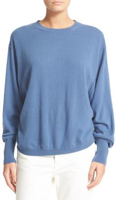 VINCE. Shirttail Cashmere Sweater $320 thestylecure.com