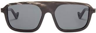 BLYSZAK D-frame horn sunglasses