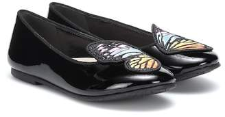 Sophia Webster Mini Bibi Butterfly leather ballet flats