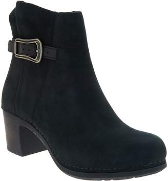 Dansko Nubuck Leather Ankle Boots - Hartley
