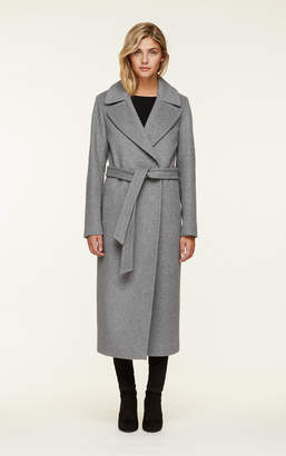 Soia & Kyo ADELAIDA slim fit maxi-length classic wool coat
