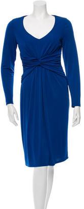 Alice by Temperley V-Neck Long Sleeve Dress $55 thestylecure.com