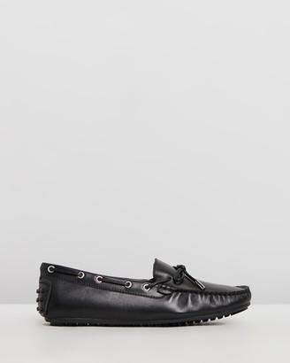 Walnut Melbourne Daria Leather Loafers