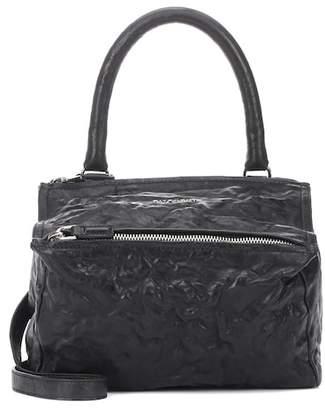 At Mytheresa Givenchy Pandora Small Leather Shoulder Bag