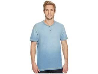 Agave Denim Durban Short Sleeve Three-Button Henley Men's Short Sleeve Pullover