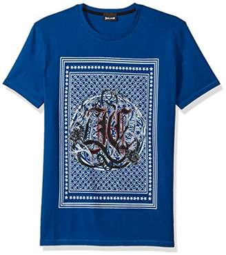 Just Cavalli Men's Logo Tee