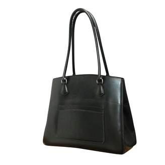 Hermes Vintage Black Leather Handbag