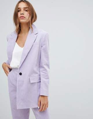 Asos Design DESIGN cord tailored blazer