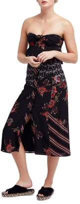 Free People Sunshine Safari Top & Skirt