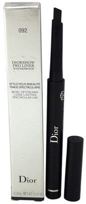 Christian Dior Women's .01Oz #092 Pro Black show Pro Liner Waterproof Bevel-Tip Eyeliner