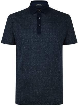 HUGO BOSS Cotton-Linen Polo Shirt