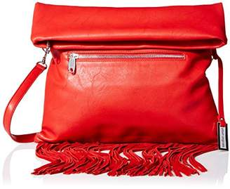 Urban Originals Women's Convertible Fringe Clutch