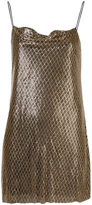 Alice + Olivia Alice+Olivia Harmony chainmail dress