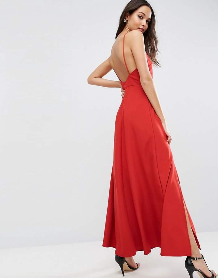 AsosASOS Maxi Dress with Scoop Back