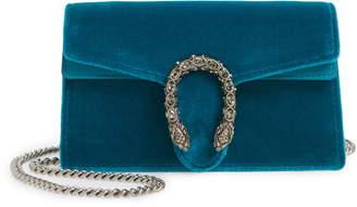 d69b46b2 Gucci Super Mini Dionysus Velvet Shoulder Bag