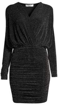Bailey 44 Night Fever Sparkle Jersey Mini Dress