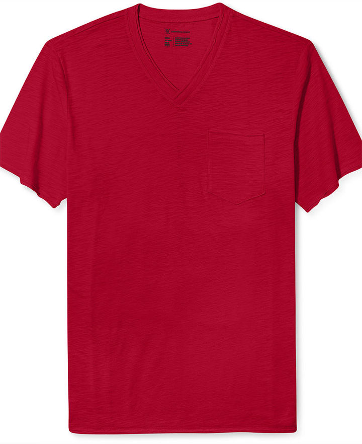 INC International Concepts Shirt, Slade Pocket V-Neck T-Shirt