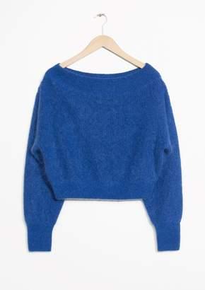 Knit Off-Shoulder Sweater