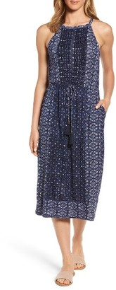 Women's Lucky Brand Printed Knit Dress $89.50 thestylecure.com