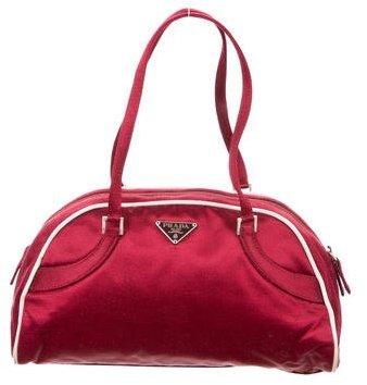pradaPrada Satin Handle Bag