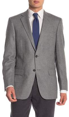 Hart Schaffner Marx Light Grey Two Button Notch Lapel Blazer
