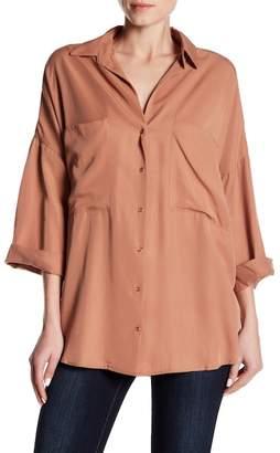 Dress Forum 3/4 Sleeve Button Up Shirt