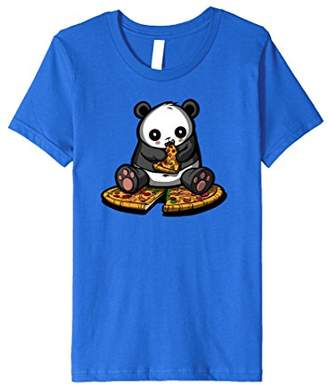 Panda Bear Eating Pizza Funny Jungle Kawaii T-Shirt