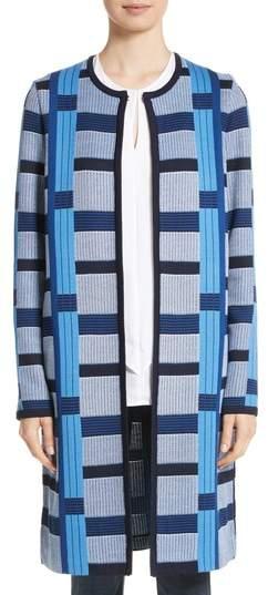 St. John Collection Colorblock Knit Jacket