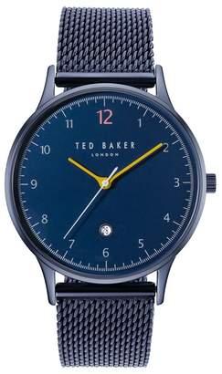 Ted Baker NR  Men's Blue Analogue Bracelet Watch Te50519008