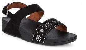 FitFlop Lulu Aztek Stud Leather Sandals